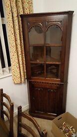 Old vintage corner unit