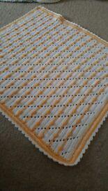 Handmade baby blankett