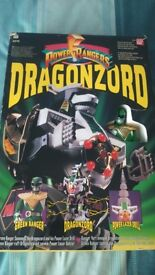 Power Rangers Dragonzord- with Green Ranger