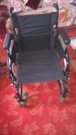 Invacare Action 2 Wheelchair - Slightly Used , Excellent Condition , Serious Offers Considered
