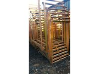 STEEL STILLAGES HEAVY DUTY INTER STACKABLE LARGE QUANTITY PRICED EACH VGC SUTTON COLDFIELD IN BHAM!!