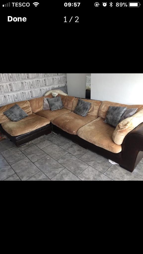 Large comer sofa