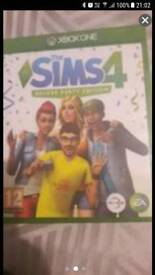 Sims 4 deluxe party edition xbox one