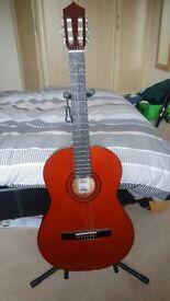 Ashton CG44 LAM Left Handed Acoustic Guitar -