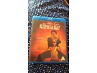 Karate kid blu Ray disc