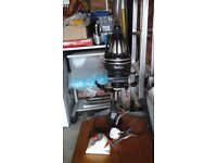 Durst m670bw enlarger & opemus enlarger plus other items