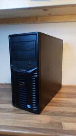 Dell PowerEdge T110 II i3 3,3GHz dual core, 8GB ECC RAM, 4 x 500GB HDD