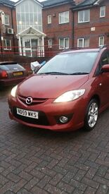 Taxi Mazda 5 sport 7 seater