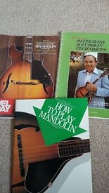 Mandolin teach yourself books x 3