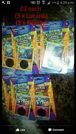 Pokemon trading cards