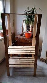 Ikea HEJNE woodrn shelves