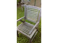 3 garden chairs for sale £15