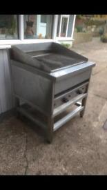 Lincat large gas chargrill
