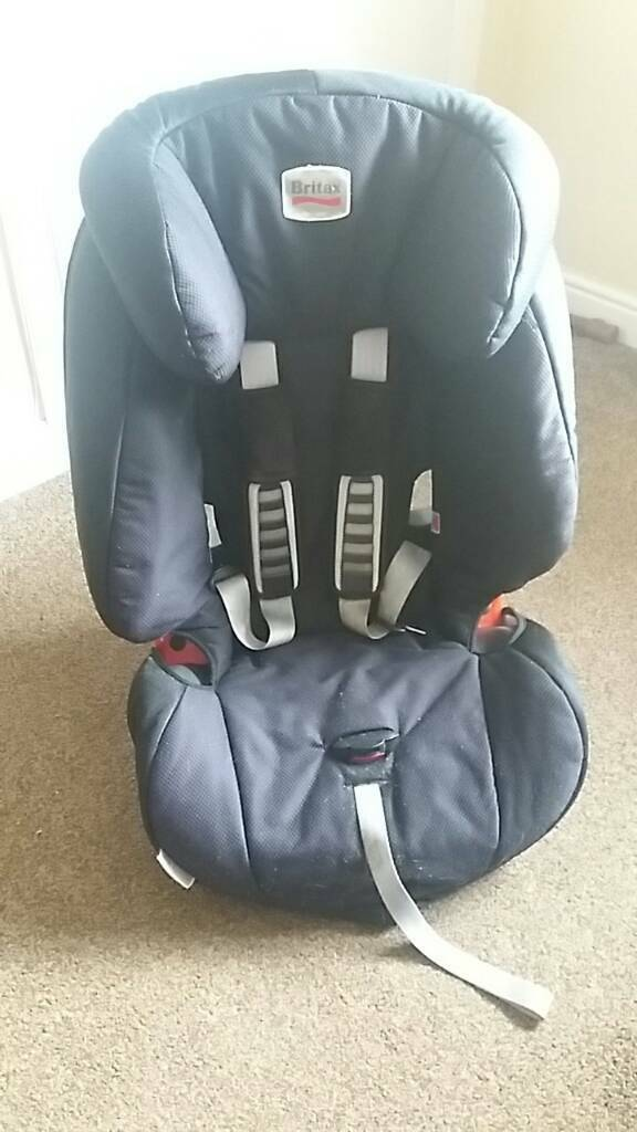 Britax car seat. Used but all in tact. No damage