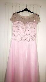 3 x Prom dresses -Blue / Silver Grey / Pink