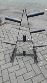 OLYMPIC WEIGHTS TREE STAND