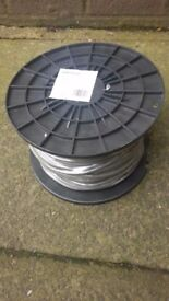 Wellco 6A Flexible Cable (100m Reel) - Brand New - Rrp £41.79 - Sale