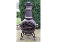 Chiminea including cover