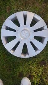 "Used 14"" suzuki wheel trims (2013 model)"