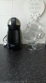 Dolce gusto coffee maker and cups