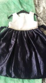 Girls couture princess dress age 7
