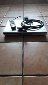 Panasonic dvd/cd player + remote + scart lead