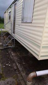 Atlas static caravan 2 bedroom sleeps 6