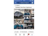 3 bedroom Caravan Calagran fleetwood haven holidays bookings now school holidays