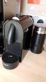 Srill for sale Nespresso u milk pods pod holder and mugs