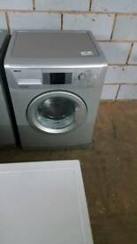 SILVER BEKO 7KG 1400 SPIN WASHING MACHINE WITH 3 MONTHS GUARANTEE