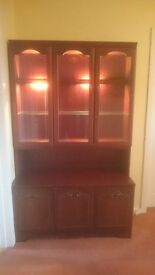 Mahogany Display Cabinet suitable for upcycling