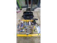 Tradesmen - Brand NEW Various Hand tools, Hitachi Drill and Hammer Drill also. Please see pics.