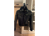 LEATHER LOOK JACKET (BRAND NEW WITH TAGS)