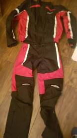 Spada winter motorbike jacket and trousers