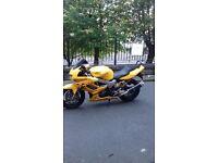honda firestorm clean bike