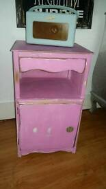 Shabby Chic bedside or side unit.
