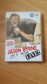 Jason Byrne live stand up dvd