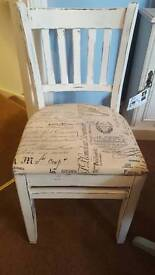 Bedroom dining chair