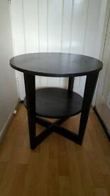 Ikea Vejmon side table / coffee table ! 2 months old ! Black Great condition !