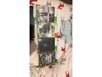 Xbox 360 and 4 games