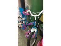 Girls bike ideal for 4-5 yr old