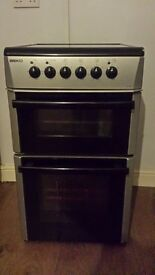 beko electric double oven/grill