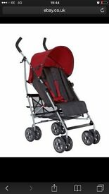 Mamas & papas push chair+ rain cover in very good condition