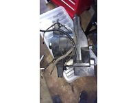 Vw t4 caravelle rear heater motor assembly