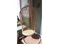 Indoor Hanging Egg Chair with frame