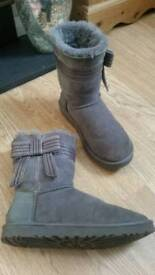 Ugg boots wore once