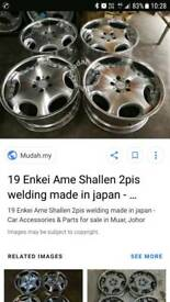 Enkei shallen wheels