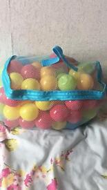 Bag of ball pit balls