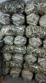 Large bags or sticks in bulk or separate