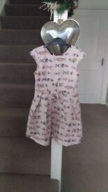 Stunning next dress age 6 with sweets design